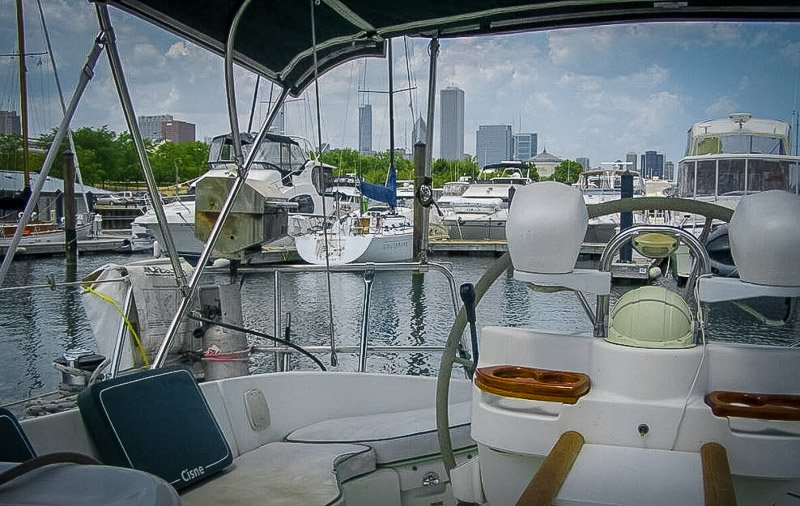 Airbnb yacht in Chicago, Illinois
