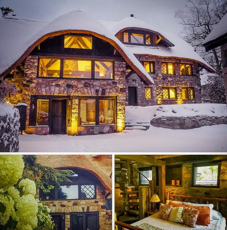 A unique hobbit house rental in Michigan