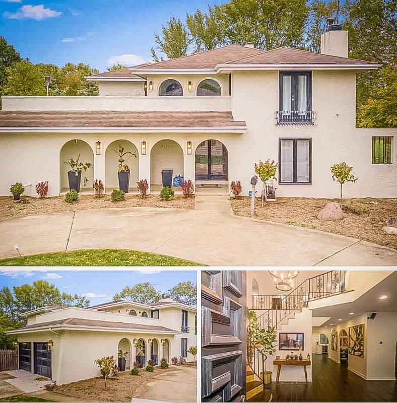 Spanish-style luxury villa