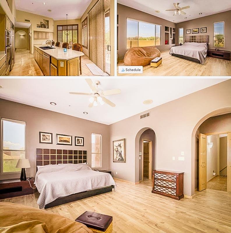 Cozy interior décor