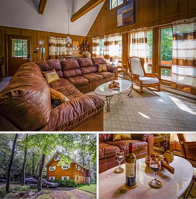 This chalet is among the coolest monthly rentals in Pennsylvania (and the US).