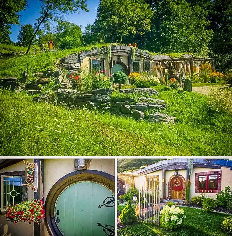 A hobbit house for rent in Vermont