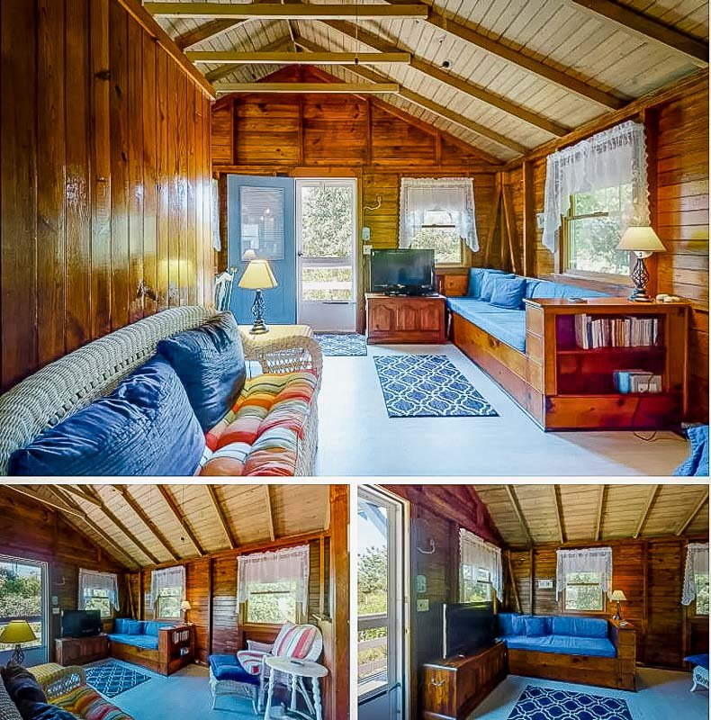 Rustic cabin vibes