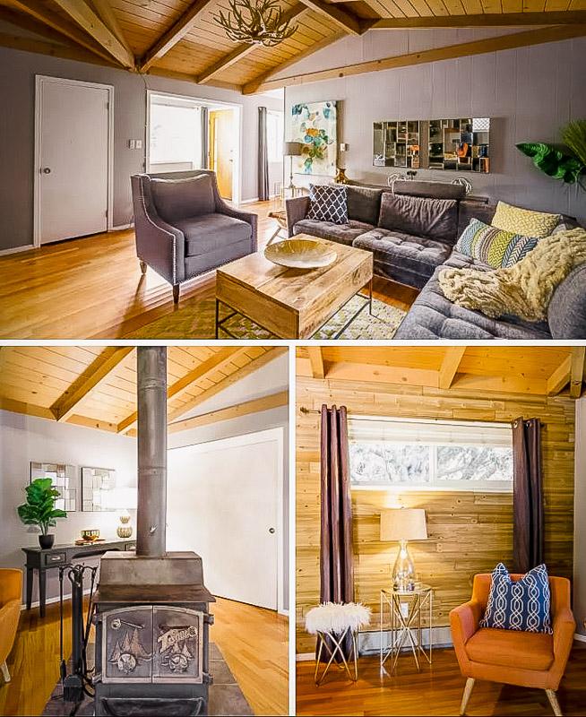 A unique long term Airbnb rental in California.