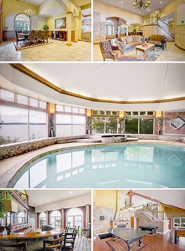 Unique Airbnb mansion in Maryland with indoor heated pool