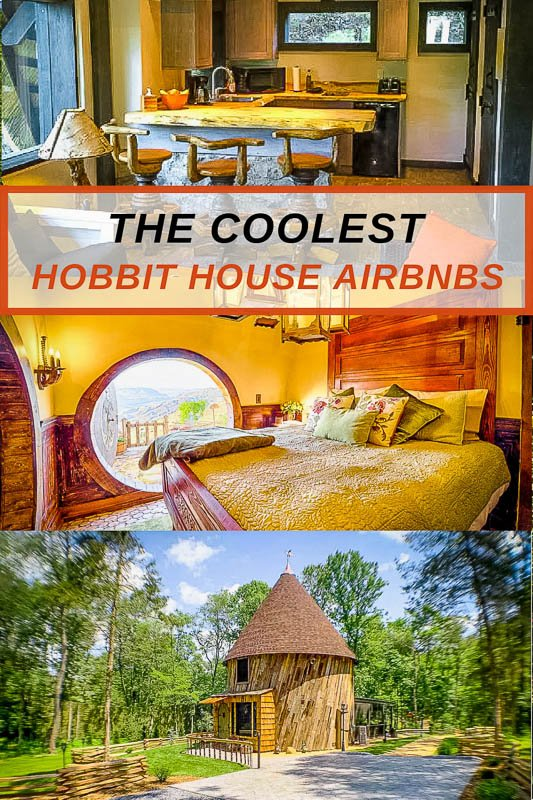 most unique hobbit house Airbnbs across the United States