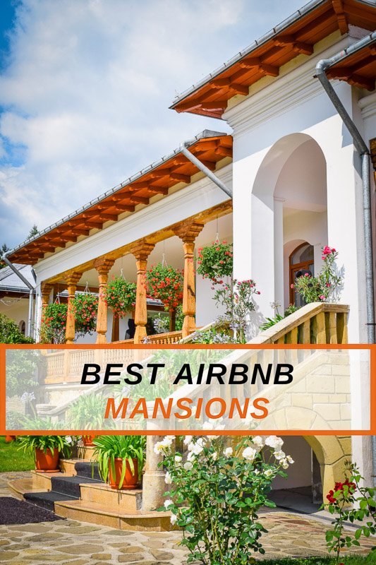 Coolest Airbnb Mansion Rentals in the USA Pinterest Photo