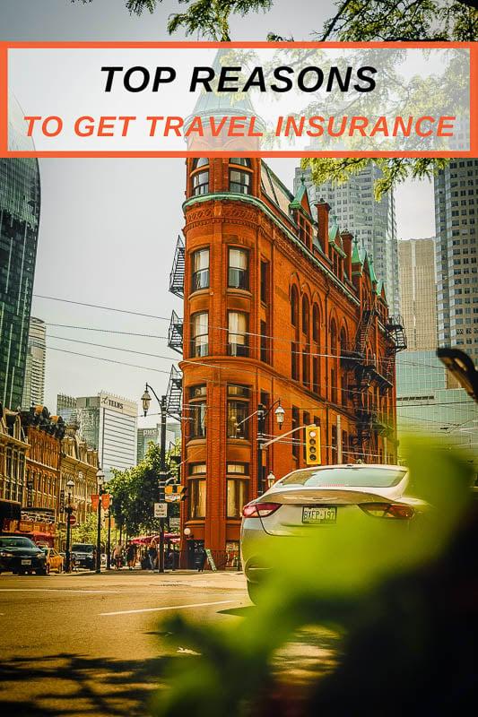 Best reasons to buy travel insurance pinterest pin image