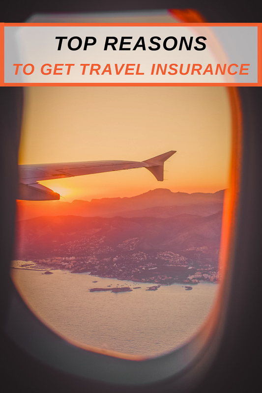 Top reasons to get travel insurance pinterest photo