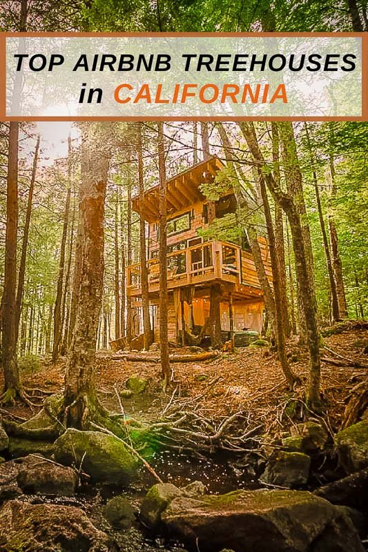 Coolest Treehouse Rentals in California Pinterest Photo Pin