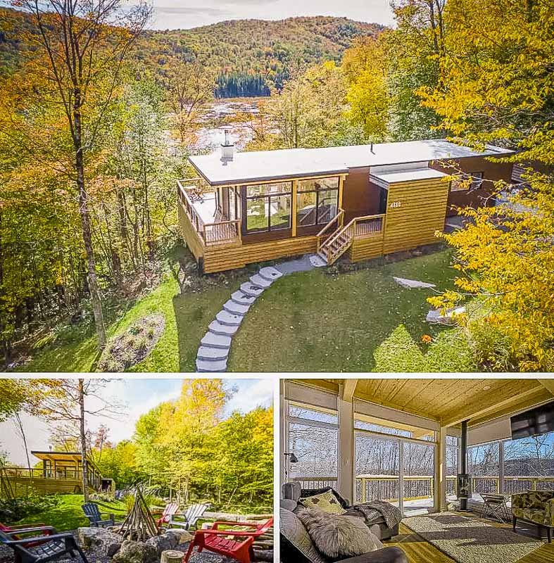 Mountain home rental in Quebec