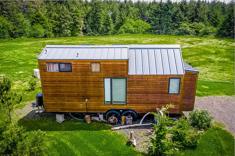 This tiny house rental in Oregon is right by the beach