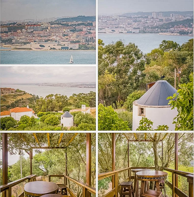 This windmill accommodation is easily one of the best places to stay in Portugal