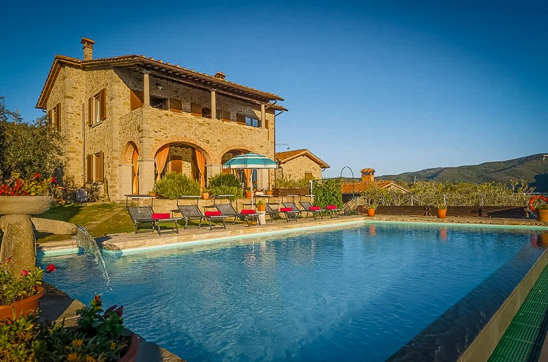 One of the best Airbnbs in Tuscany Italy.