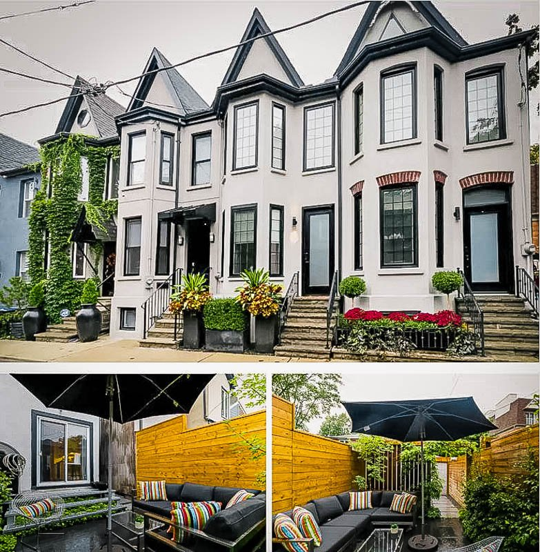Chic 1870s house rental in Toronto, Canada.