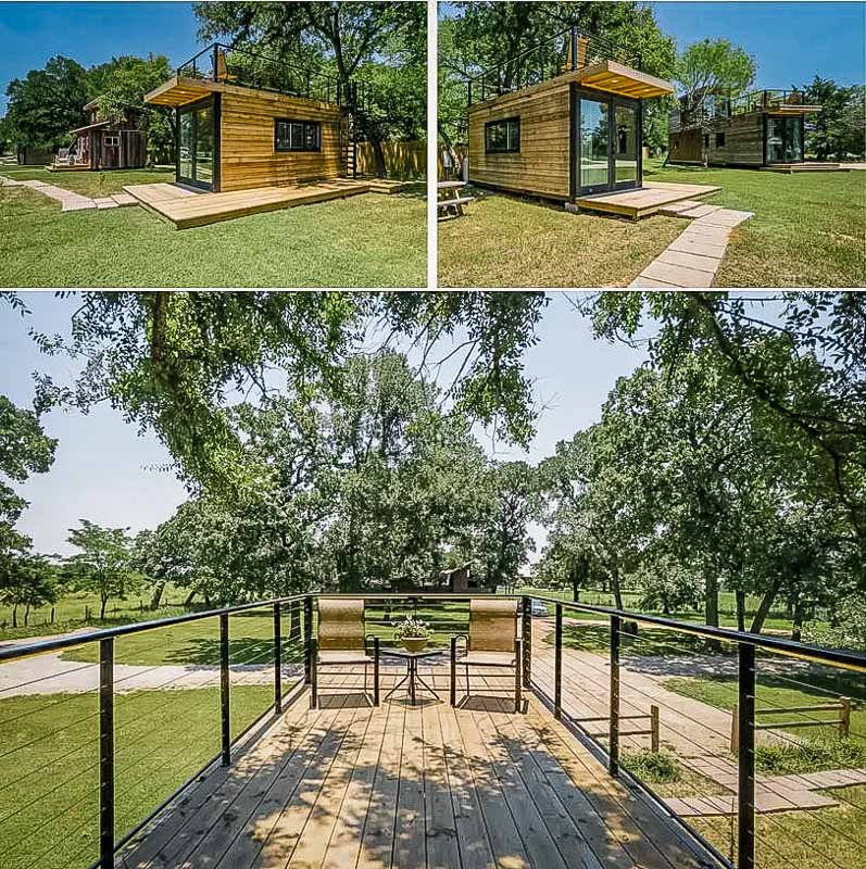 Unique Texas tiny house on Airbnb