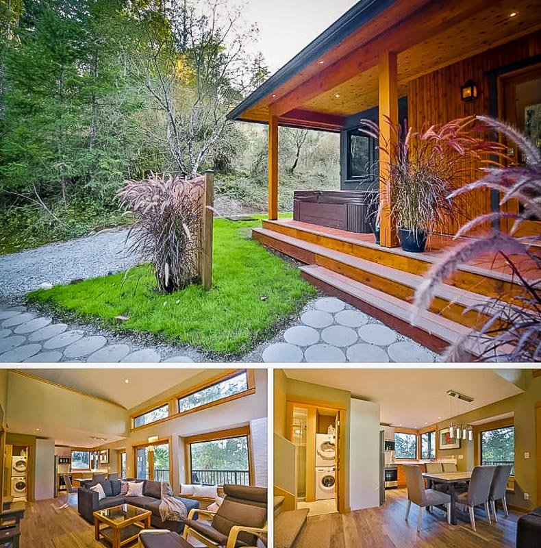 Beautiful British Columbia Airbnb rental.
