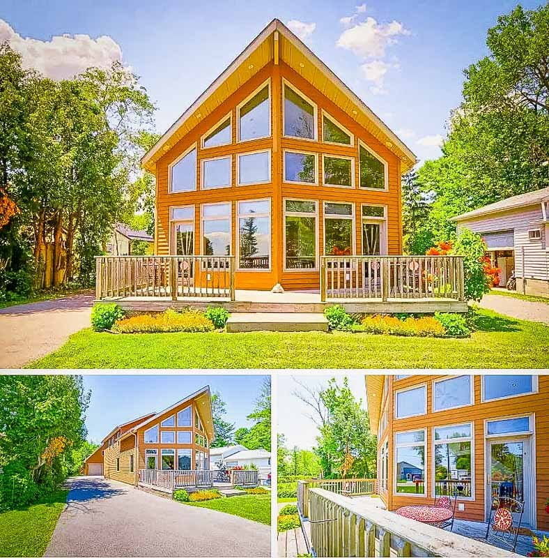 Waterfront cottage for rent in Ontario