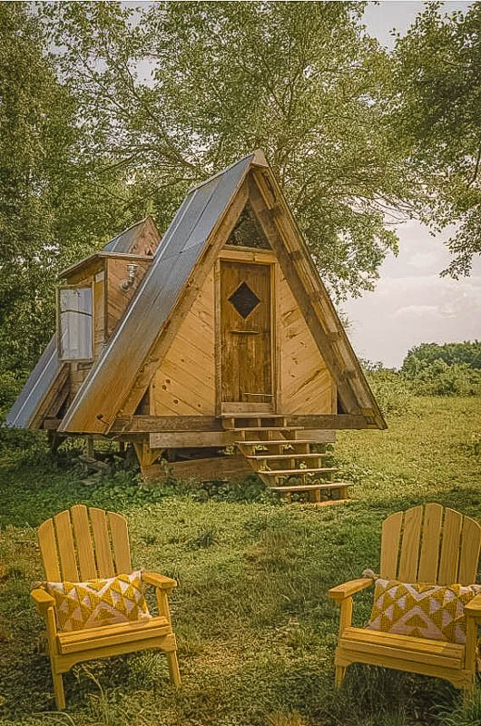Unique A-Frame cabin rental for rent in New York