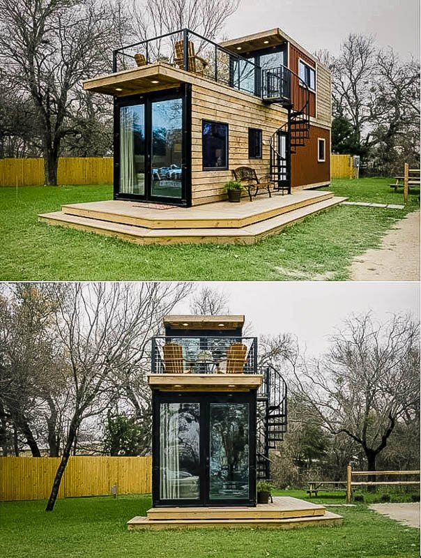 One of the most unique tiny houses on Airbnb