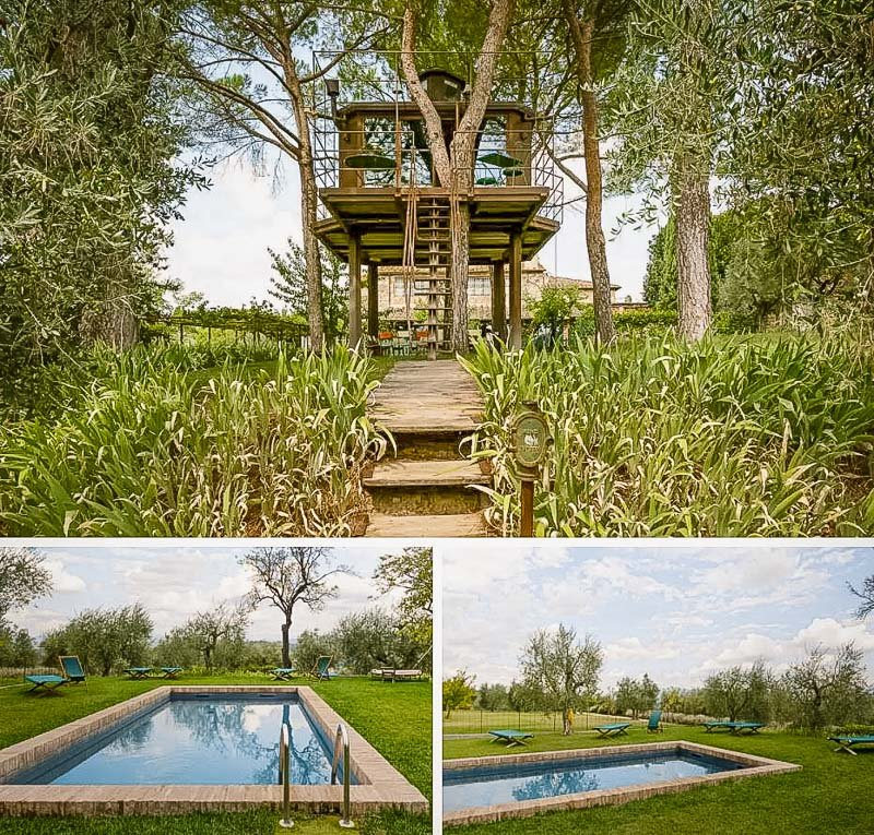 An Airbnb treehouse Italy in the heart of Tuscany