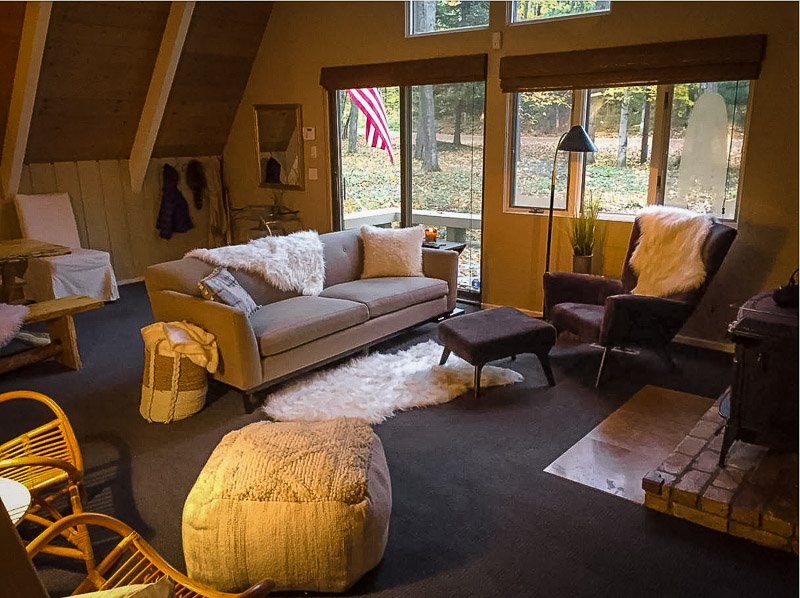 Cozy interior living room