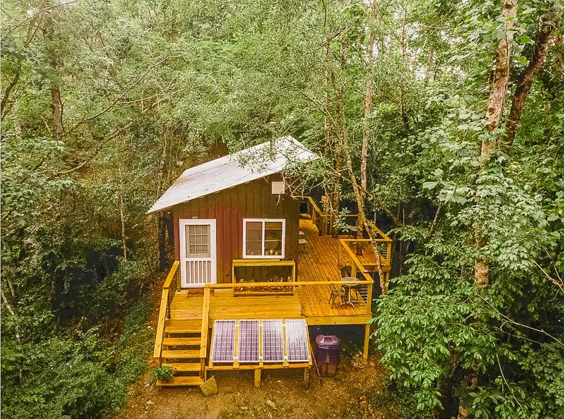 This tiny house on Airbnb is perfectly suitable for social distancing