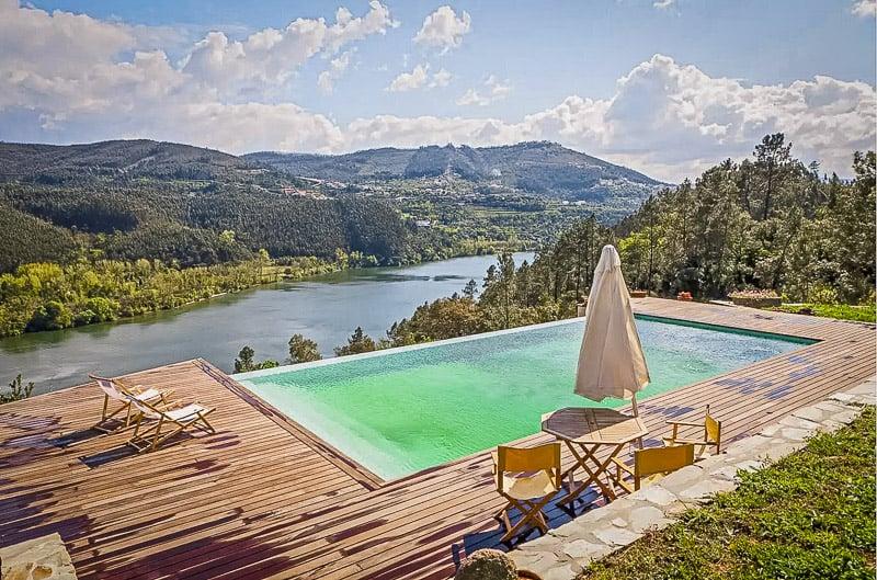 A unique Douro Valley Airbnb villa.