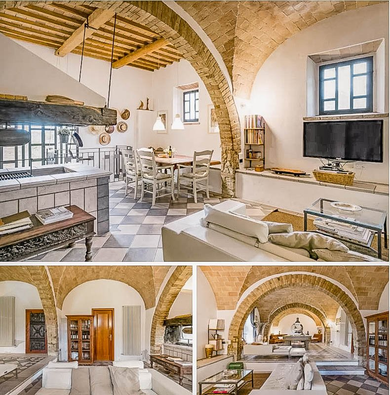 A top Airbnb in Tuscany Italy with a pool