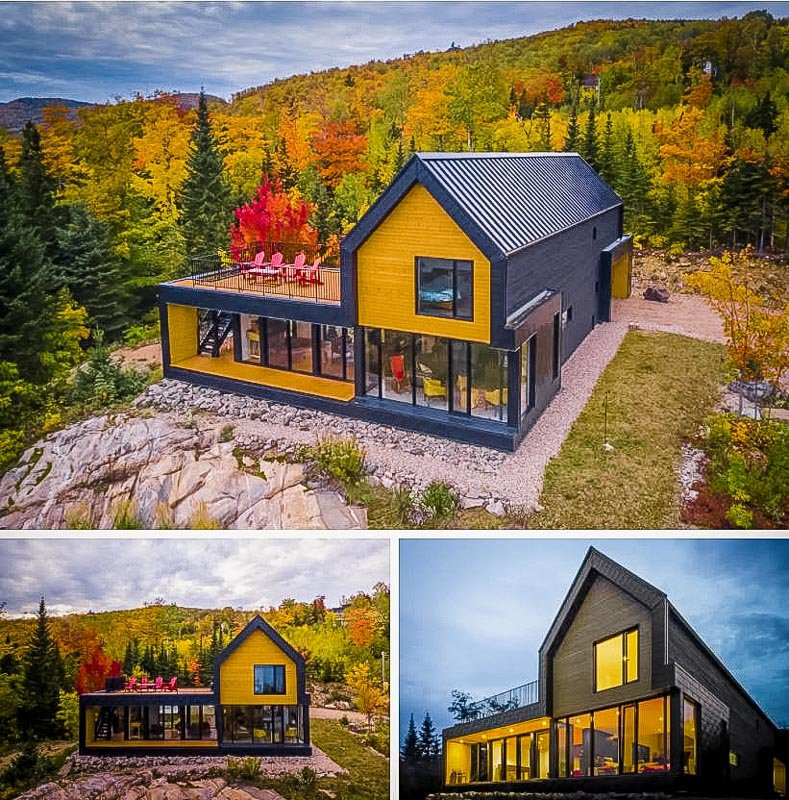 This cottage is one of the coolest Vacation Rentals in Canada