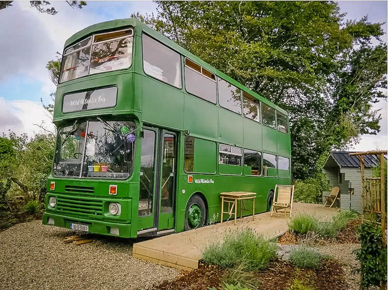 This bus rental is one of the most unique Airbnbs in Ireland.
