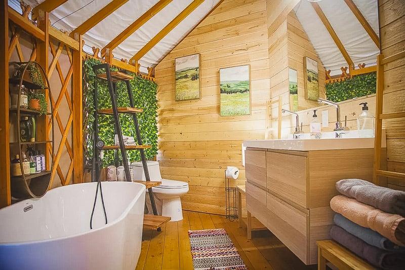 Elegant and modern interior living space