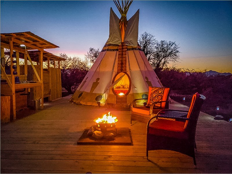 This tipi rental is among the coolest Airbnbs in the southwestern United States