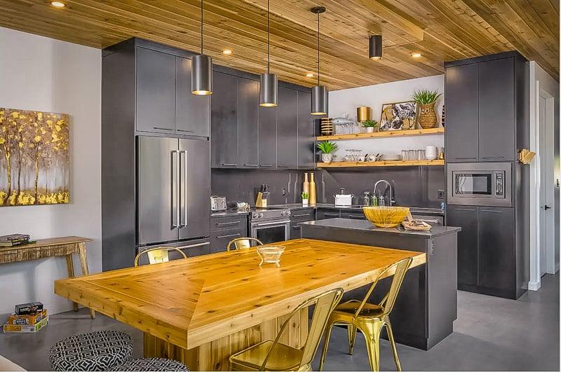 Modern and elegant kitchen