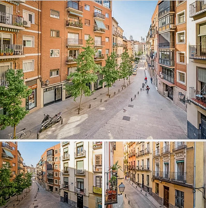 Stunning views of Madrid from the Spanish vacation rental