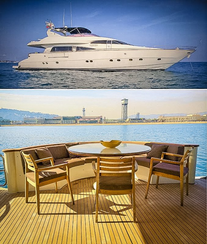 Yacht Airbnb to rent in BCN, Spain