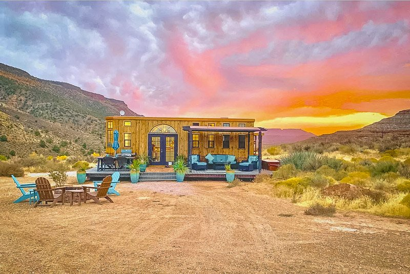 A house for rent in Utah that embodies the best that the Southwestern US has to offer.