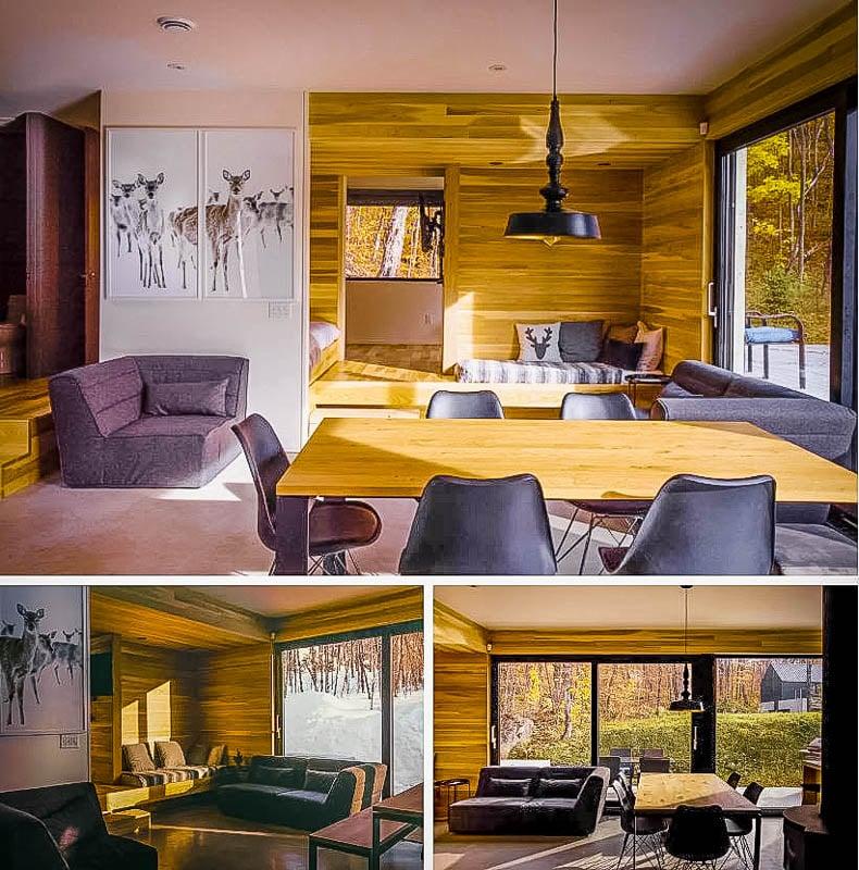 Canada Airbnb rental with a hot tub
