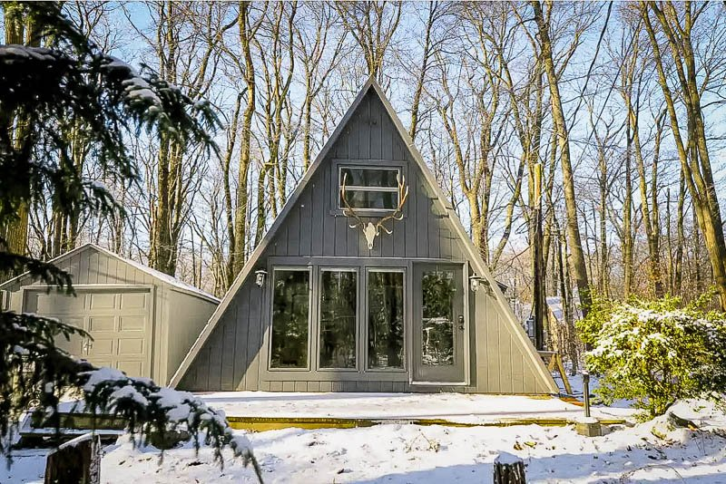 Tiny A-Frame in PA.