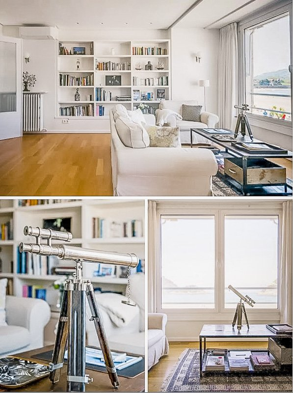 This home rental in San Sebastian is among the most unique Airbnbs in Spain