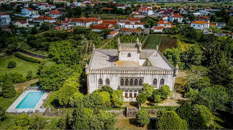 Unique castle vacation rental in Portugal