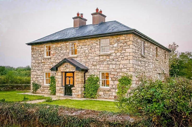 This country house is one of the most beautiful Airbnbs in Ireland.