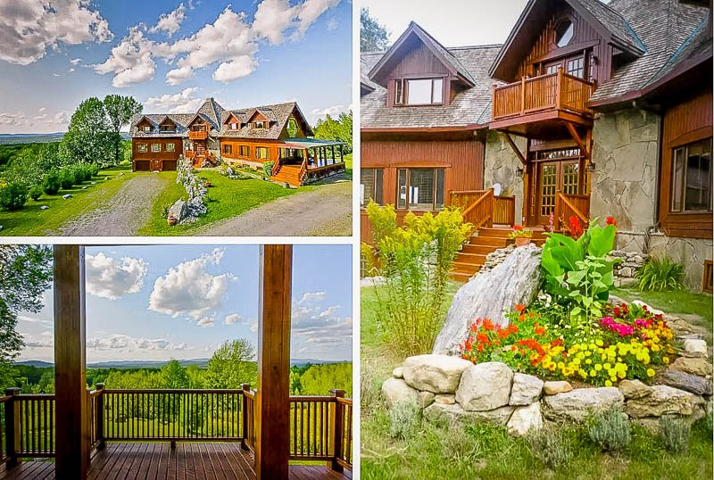 A unique lodge-style Airbnb in Canada that's suitable for large groups