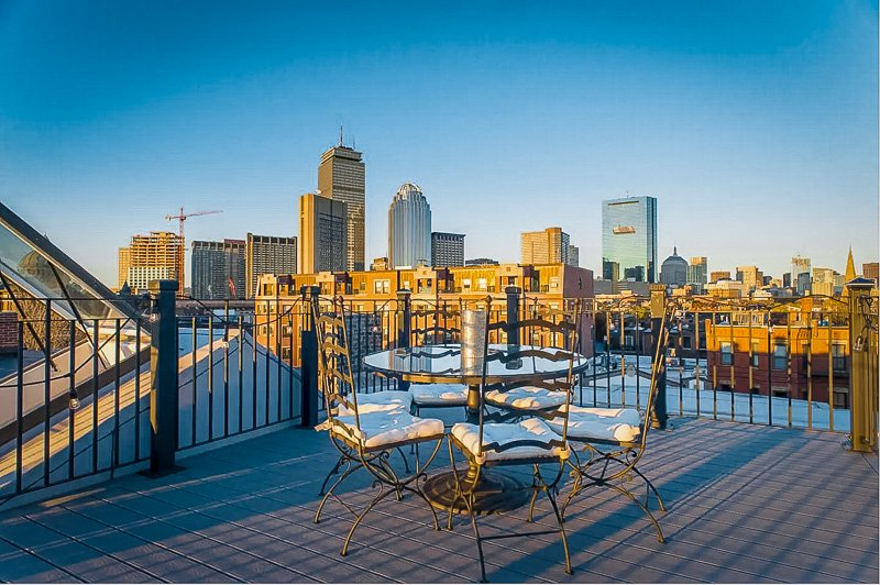 Luxurious penthouse for rent in Boston
