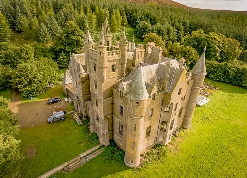 One of the top Airbnb castles to rent in Scotland