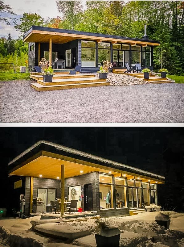 Modern home for rent in Ontario, Canada.