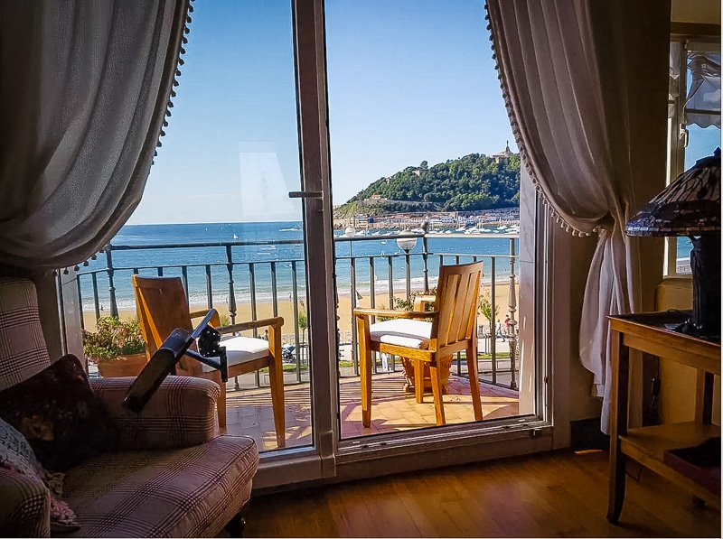 This home in San Sebastian is easily among the best Airbnbs in Spain on the beach