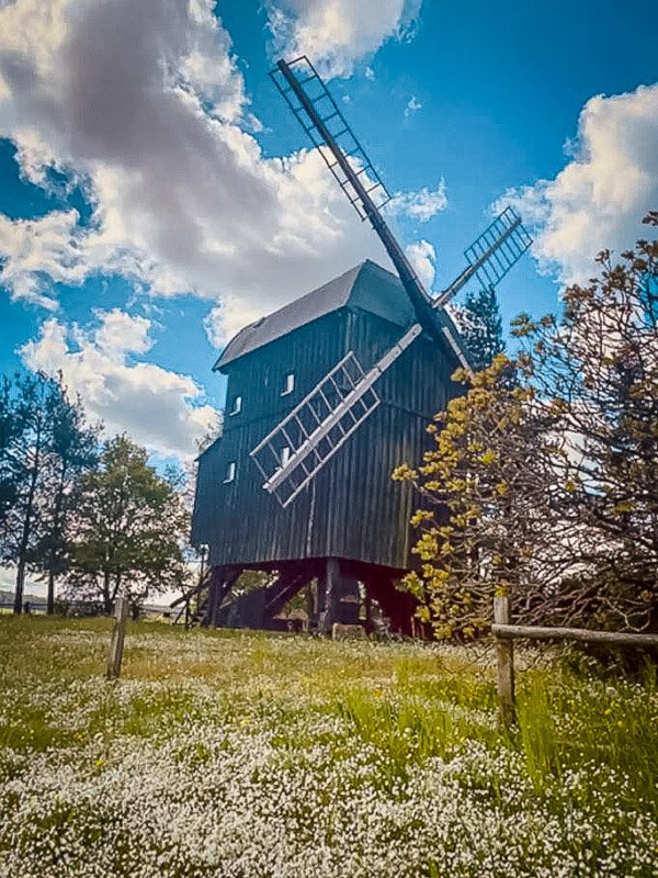 A windmill for rent in the heartland of Germany