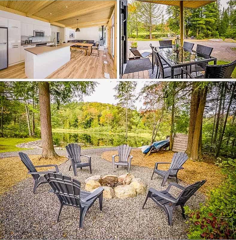 Beautiful outdoor seating area