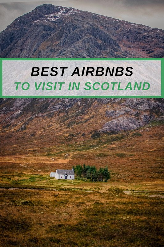 Top Airbnb rentals in Scotland to rent